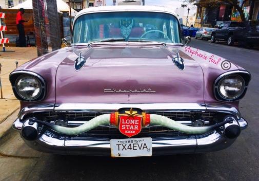 1957 Chevy Lonestar Beer Car